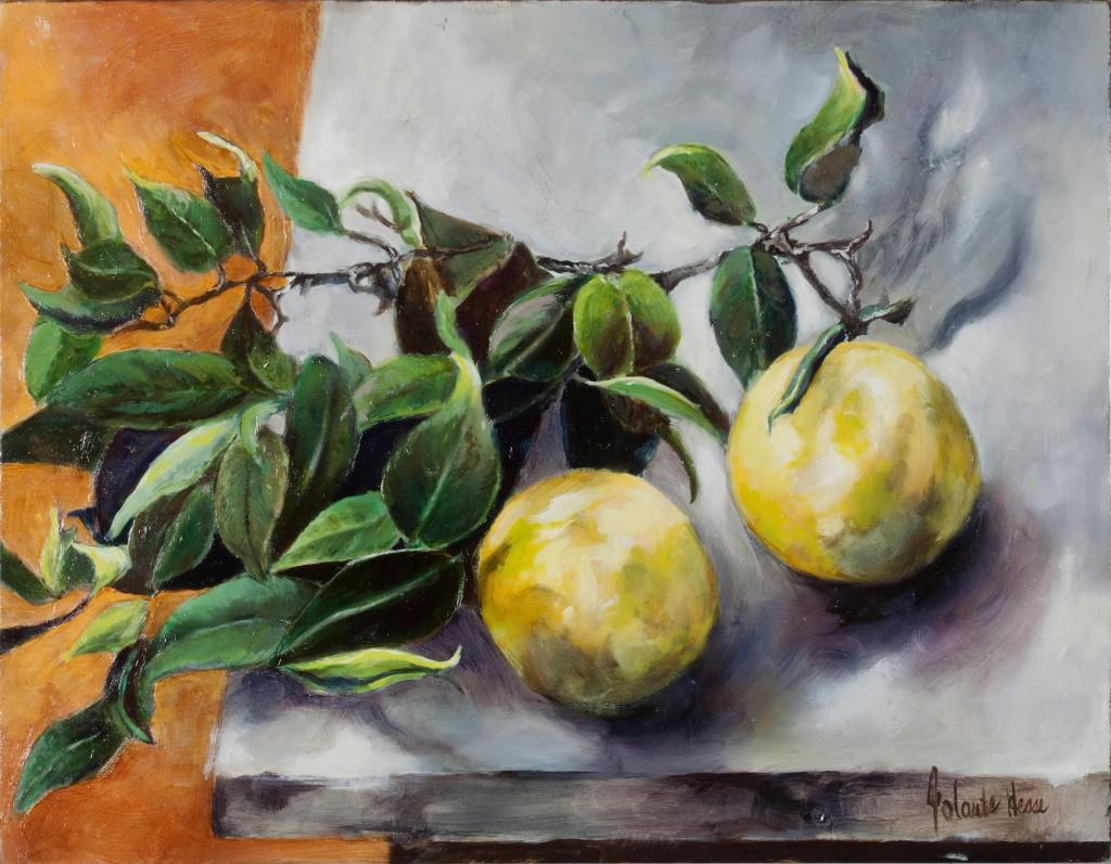Two Grapefruit